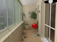 Оживить дизайн балкона можно яркими подушками
