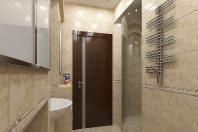 деревянные двери в ванную