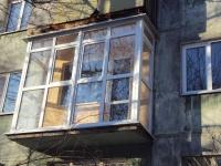 Остекление традиционного балкона во французском стиле