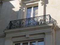 Классический вариант французского балкона