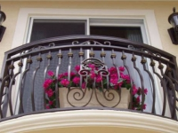 Французская ковка на балконе