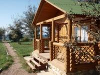 Деревянное крылечко в русском стиле