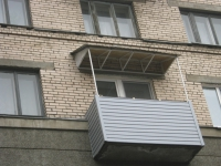 Крыша для неостекленного балкона