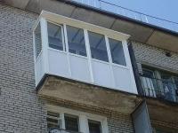 Крыша для остекленного балкона на последнем этаже