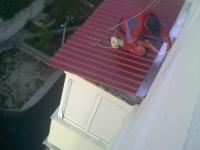 Монтаж кровли крыши для балкона своими руками