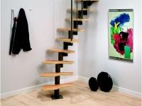 Больцевая мансардная лестница