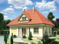 Четырехскатная мансардная крыша