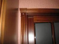 деревянные наличники на дверь