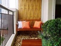 Идея для обустройства открытого балкона