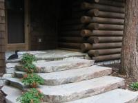 Устройство крыльца с гранитными ступенями