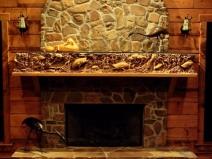 огнестойкая плитка для камина