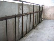 Парапет балкона из бетонных плит