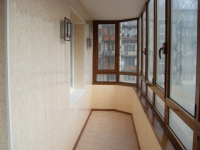 Пластиковые панели для отделки балкона