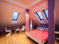 Гипсокартон в отделке стен и потолка мансарды
