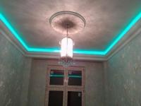 Неоновая подсветка потолочного плинтуса