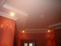 Плинтус на потолке с подсветкой
