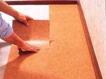 пробковые полы на кухне
