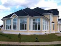 Дом с многоуровневой мансардой