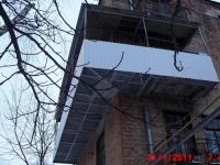 Увеличение балкона таким способом требует оформления ряда документов