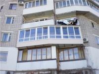 Пример балкона с выносом