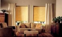 рулонные шторы в интерьере дома
