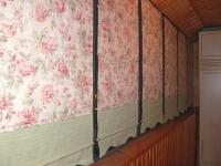 Современные шторы на балкон