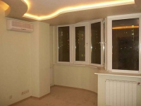 Увеличение площади комнаты за счет присоединения к балкону