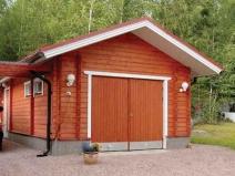 как построить гараж из дерева