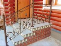 Облицовка декоративной плиткой ступенек