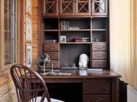 Шкаф для кабинета на лоджии