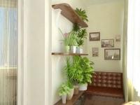 Уголок для отдыха на балконе