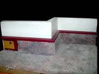 Плинтус для покрытия из ковролина