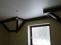 Деревянные галтели для потолка